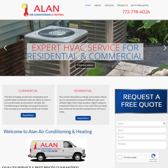 Alan Air Conditioning & Heating
