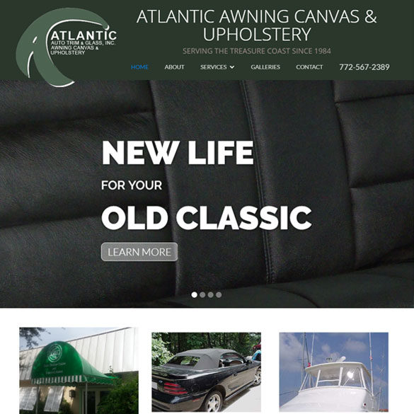Atlantic Awning Canvas & Upholstery